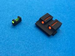 Pro-Arms Airsoft Steel Fiber Optic Sight for Umarex Glock 17/19